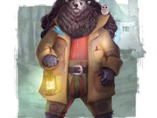 Rubeus Hagrid – Réinterprétation