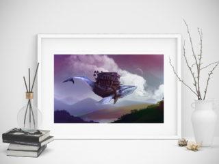Baleine volante